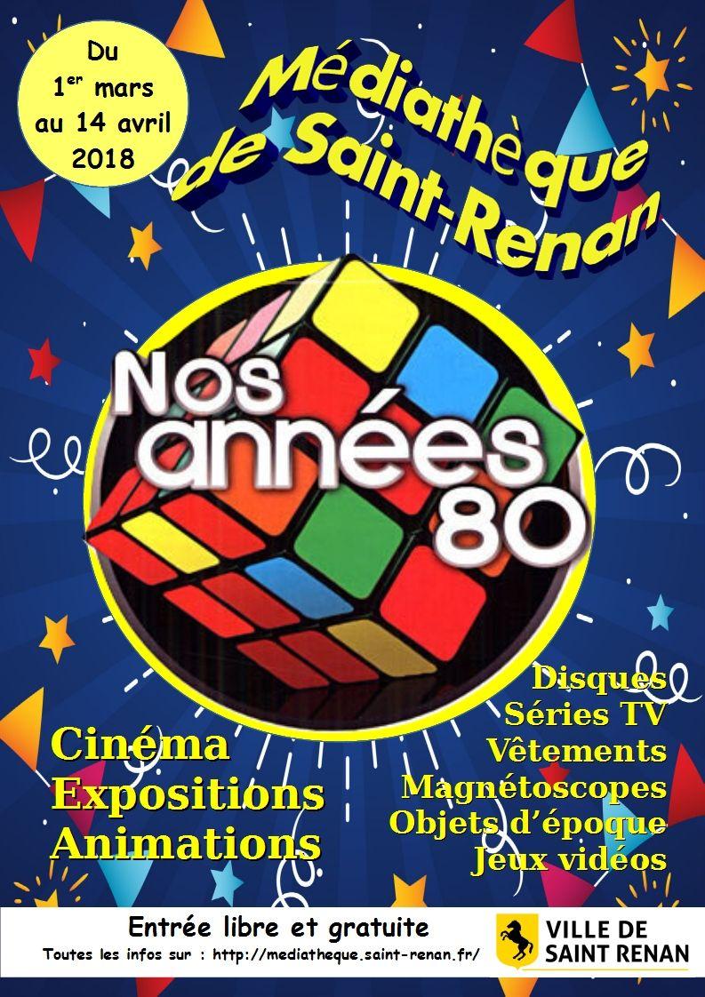 Affiche années 80
